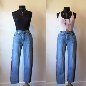 Y2K straight leg Mom jeans by Juicy Couture